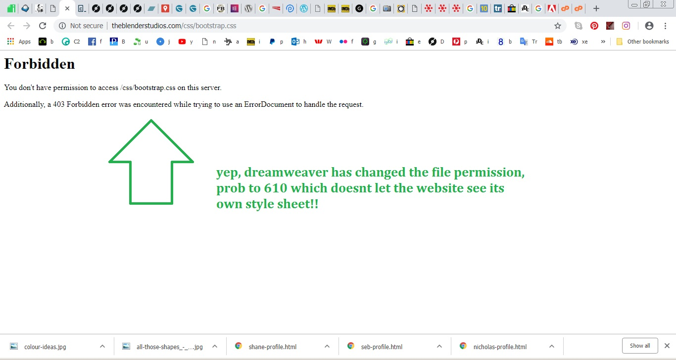 Fix Dreamweaver upload permissions errors | itDoesCompute